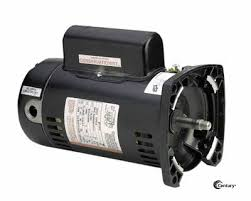 pool spa motors square flange usq1252 century 2 5 hp two compartment square flange pool motor