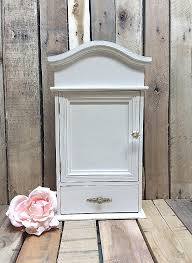 white furniture shabby chic. Brilliant Chic Shabby Chic Distressed Wood Furniture Unique Wooden  Storage Box Shelf Painted Antique In White