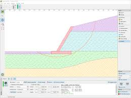 Counterfort Retaining Wall Design Software Cantilever Wall Geotechnical Software Geo5 Fine