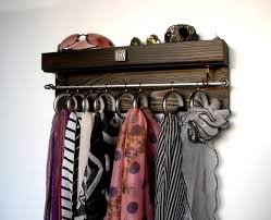 scarf holder accessories organizer wall mounted display scarf hanger organizer holder l efcace cute wall mounted