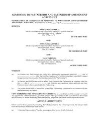 Joint Venture Template. Construction Joint Venture Agreement ...