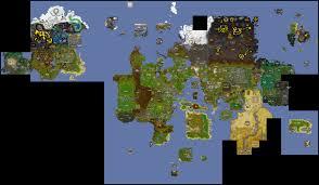 world map  old school runescape