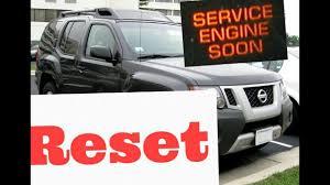 2005 Nissan Altima Service Engine Soon Light Reset How To Reset Service Engine Soon Light On A 2005 Nissan Xterra