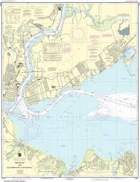 Noaa Nautical Chart 12331 Raritan Bay And Southern Part Of Arthur Kill