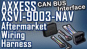 aftermarket wiring harness axxess xsvi 9003 nav interface aftermarket wiring harness axxess xsvi 9003 nav interface