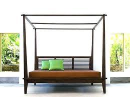 Platform Canopy Bed Frame Canopy Bed Option Platform Canopy Bed ...