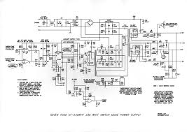 the old pc power supply circuit electronic projects circuits circuit power supply computer 230w 220v