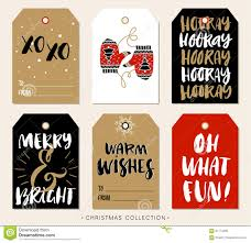 Gift Tag Design Ideas Christmas Gift Tag With Calligraphy Hand Drawn Design