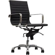 comfort office chair. Manhattan Comfort Delancey Mid-Back Adjustable Black Office Chair