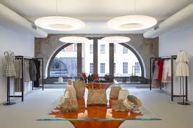 Ceiling Interior Design For Shop Paul Nulty The Designer Behind Lighting For Nike Burberry