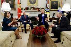 Office meeting pictures Chuck Schumer Trumps Meeting With Nancy Pelosi And Chuck Schumer Was Disaster Rolling Stone Rolling Stone Trumps Meeting With Nancy Pelosi And Chuck Schumer Was Disaster