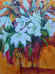 holden lilies number 2 painting by maureen finck