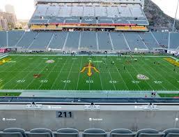 Sun Devil Stadium Section 211 Seat Views Seatgeek