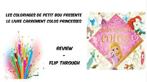 Carr Ment Colos Disney Princesses Livre De Coloriage Youtube