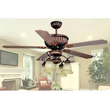 ceiling fan light hanging by wires retro glass wood dining