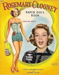 vine uncut 1940s rosemary clooney paper dolls lowe