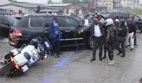 Image result for wike escape assassination attempt