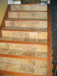 wood look tile on stairs and floors with a border design flooring wooden laminate floor can you put grain