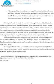 Glenda Voller President Washington Association Of