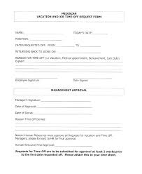 Time Off Request Form Format For Work Sharepoint Workflow