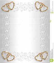 Wedding Invitation Border White Satin Stock Illustration Image Background Border Design Frame Gold Hearts Illustrated Invitation Ornamental Satin Valentine Wedding