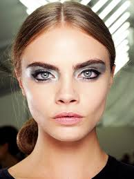 paris fashion week s s 13 chanel make up a vlasy