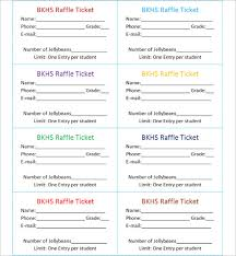templates for raffle tickets in microsoft word sample raffle sheet