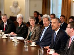 Obama And Cabinet John Kerry Will Not Be Denied