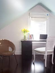 ductless heating systems. Modren Systems Home Office With Sloped Ceiling To Ductless Heating Systems S
