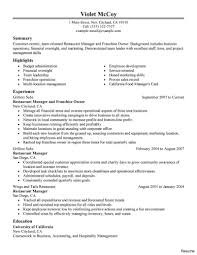 Fast Food Resume Sample Fast Food Resume Example Resumes for Fast Food Resume Objectives 22