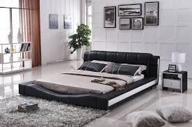 Platform Bedroom Furniture Amazoncom Us Pride Furniture B8067 Ck Bonded Leather