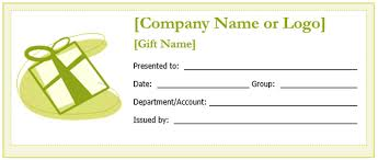 Custom Gift Certificate Templates Free Gift Certificate Template Free Download Microsoft Word 173