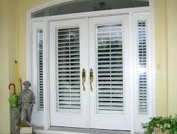 french sliding doors with blinds door patio prime glass built in designing inspiration 3