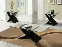 ... Coffee Table, Black Coffee Table Sets Offer Sophistication And Mistery  Glass Modern Coffee Table Sets ...