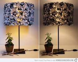 Diy Lamp Shades Mesmerizing 32 Girly DIY Lamp Shade Designs Home Design Lover