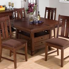 Dining Table With Storage Round Dining Table With Storage Dining Table Design Ideas
