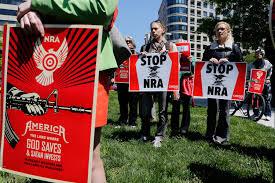 anti gun control sign. Exellent Gun ReutersLarry Downing And Anti Gun Control Sign