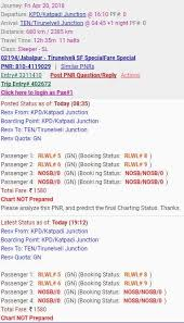 Irctc Chart Not Prepared Rlwl Chart Preparation About Waiting List And Booking