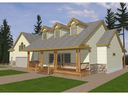 calgary country ranch home house plan