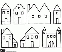 Kleurplaten Huizen Kleurplaat