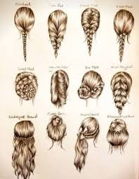 Hairstyle Names For Women awesome drawings of hair styles with the name of the style 8783 by stevesalt.us