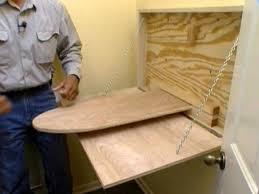 ironing board furniture. DIY Ironing Board Cabinet Furniture
