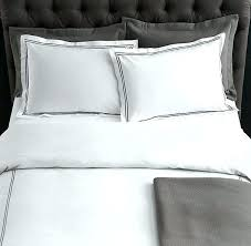 italian hotel satin stitch white duvet cover restoration hardware 165 219 specialitalian king cotton covers italian