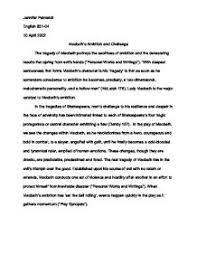 conclusion macbeth essay ambition the ambition of macbeth an essay fiction fictionpress