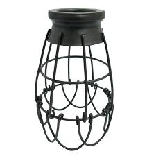 wire cage pendant light. Beautiful Appealing Wire Cage Pendant Light Diy Shades Black