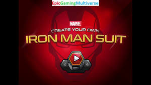 Create Your Own Iron On Design Marvel Create Your Own Iron Man Suit Gameplay Part 1 Customizing An Iron Man Suit