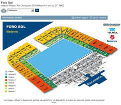 Wiltern Seating Chart Madonna Madonnalicious Sticky Sweet Mexico Seating Plan