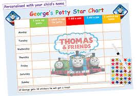 Potty Toilet Training Reward Chart Kids Boys Girls Sticker