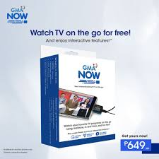 GMA NOW Mobile Digital TV Dongle (Android)