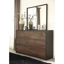 rustic bedroom dressers. modern rustic dresser bedroom mirror by signature design in stunning picture dressers r